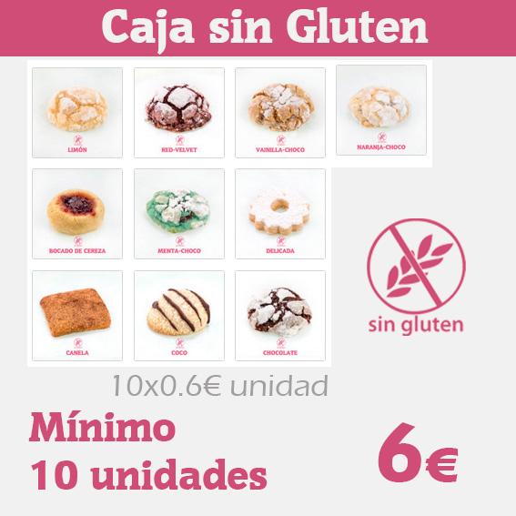 Realiza tu caja de galletas sin gluten a medida