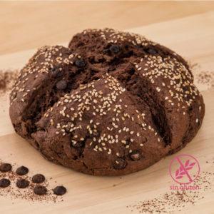 Pan de Chocolate (sin gluten)